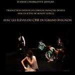 La comédienne - Anne-Charlotte LEFFLER