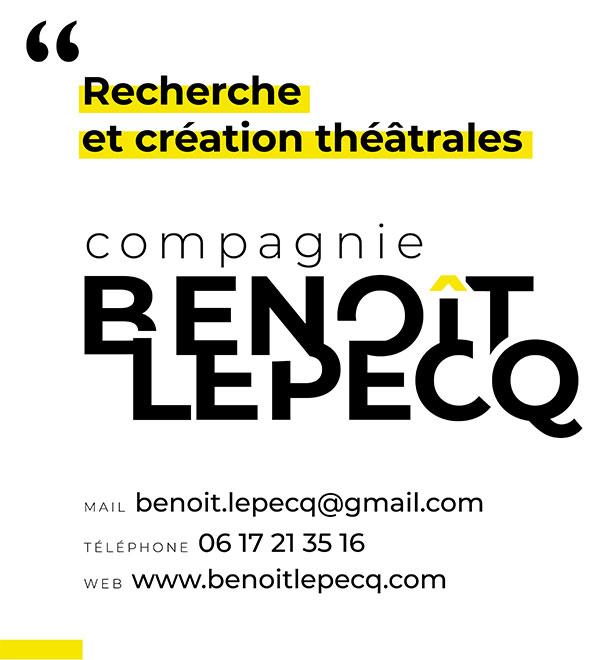 Logo compagnie théâtrale Benoît Lepecq